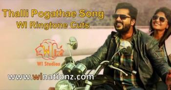 Thalli Pogathey Song - Ringtone Cuts