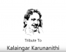 Tribute to Kalaingar Karunanidhi