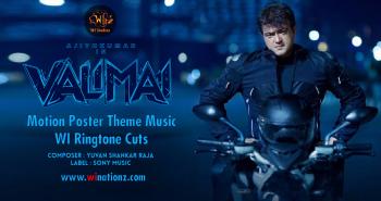 Valimai Motion Poster Theme Music – WI Ringtone Cuts