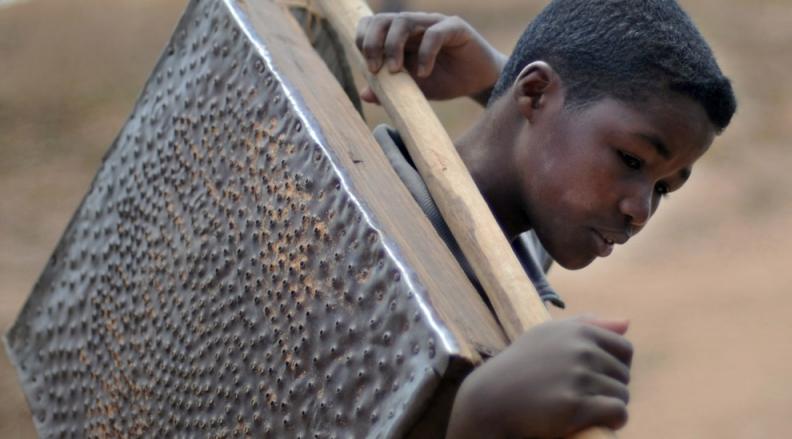 Children's in Mines – Madagascar