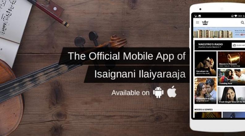 Maestro's Music – Ilayaraja's Official Music App