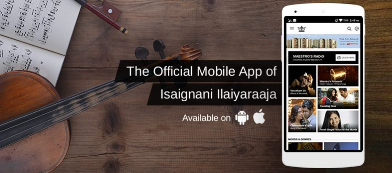 Maestro's Music – Ilayaraja's Official Music App