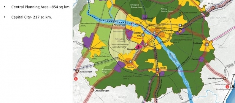 Singapore's Capital City Master Plan For Andhra Pradesh