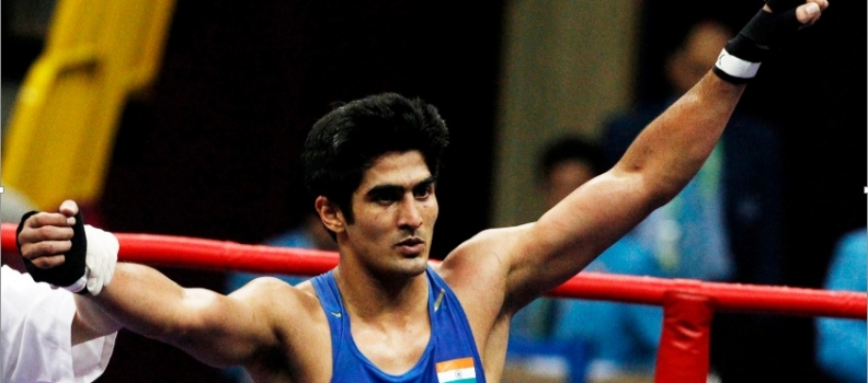 Boxing – India's Olympic Hero Vijender Singh Turns Pro