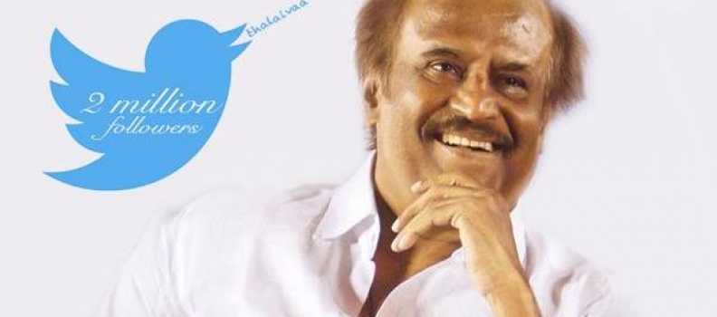 RAJINI – 1st South Indian Actor to Reach A Milestone