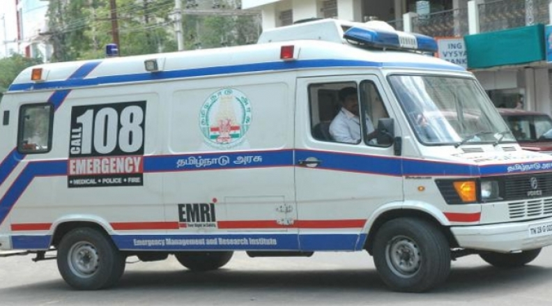 Give Right of Way for Ambulance / Emergency Vehicles.