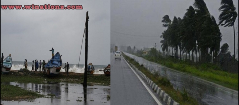 Cyclone HudHud Reaches 180kmph