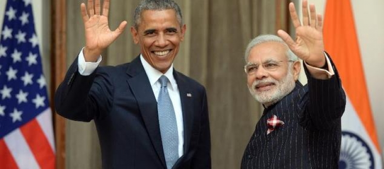 "Modi christened ""India's reformer-in-chief"" by Obama"