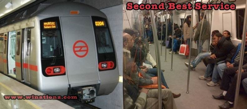 Delhi Metro – Second Best Metro Services
