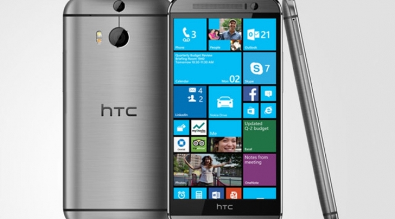 HTC Launches HTC One M8 With Windows Phone OS
