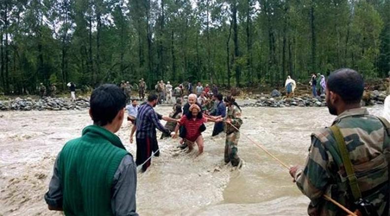 Worst Flood in Jammu & Kashmir in 50 Years