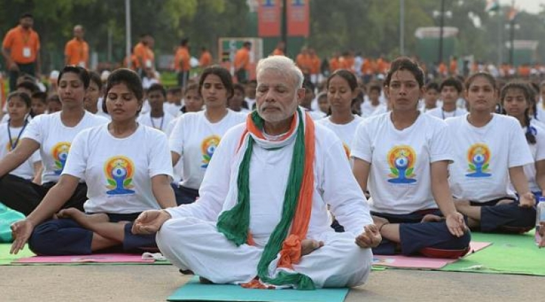 International Yoga Day now in Guinness Book