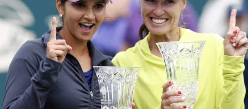 Sania seals Top Spot
