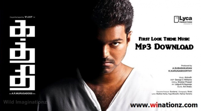 Kaththi First Look – Theme Music – WI Cuts