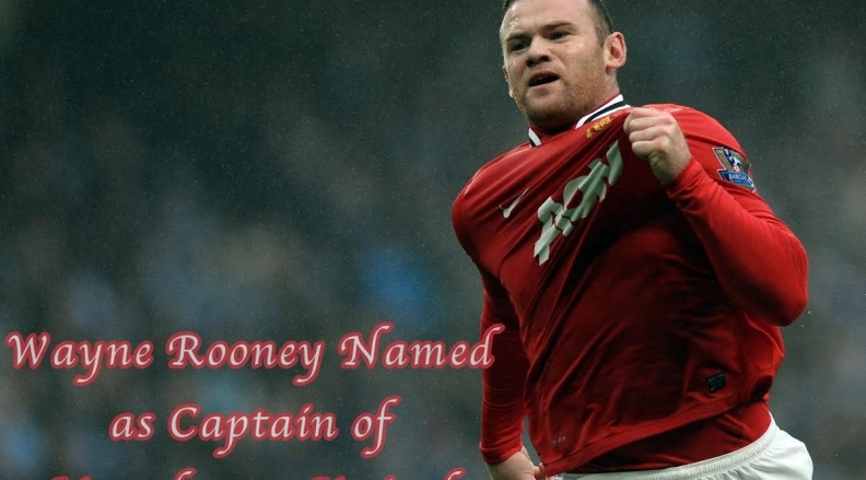 Wayne Rooney – Captain of Manchester United